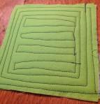 b4 Back of green coaster